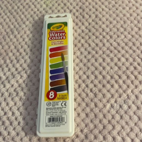 Crayola 8 Water Colors Palette